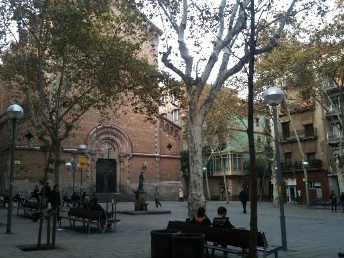 Bairro Graça em Barcelona