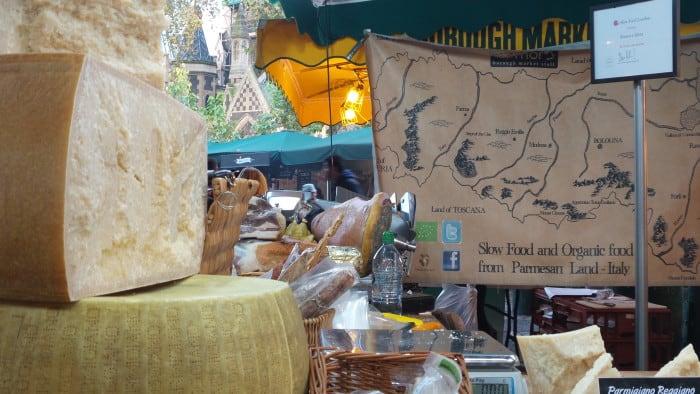 mercado gastronômico em londres