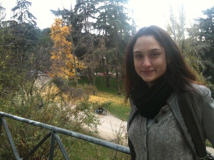 Sofia Bauchwitz em Madri