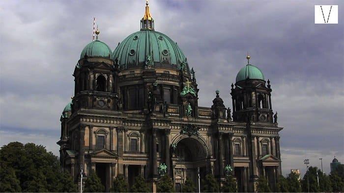 catedral de berlim na ilha dos museus