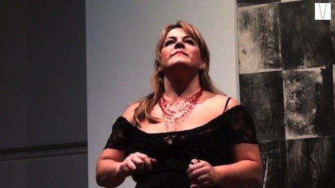 a cantora de opera gabriela di laccio