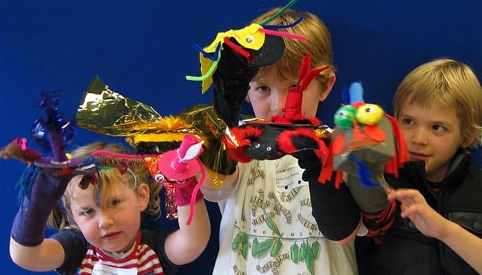 Crianças no Geffrye Museum