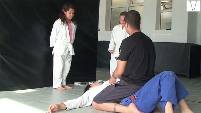 aula de jiu jitsu