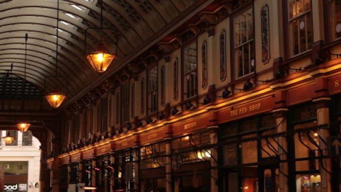 Mercados de Londres Leadenhall Market