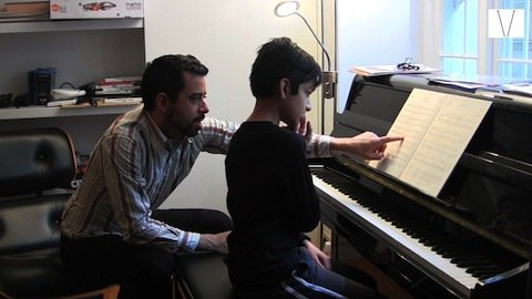 aula de piano particular em londres