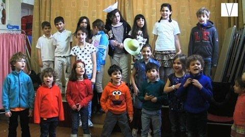 português para crianças em londres