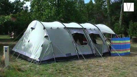 acampando na frança