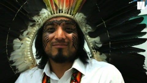 índio brasileiro em londres