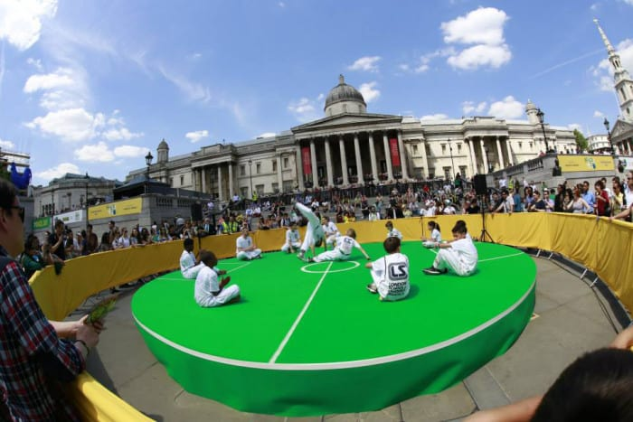 Capoeira em londres onde aprender acontece canal londres for Consul performance