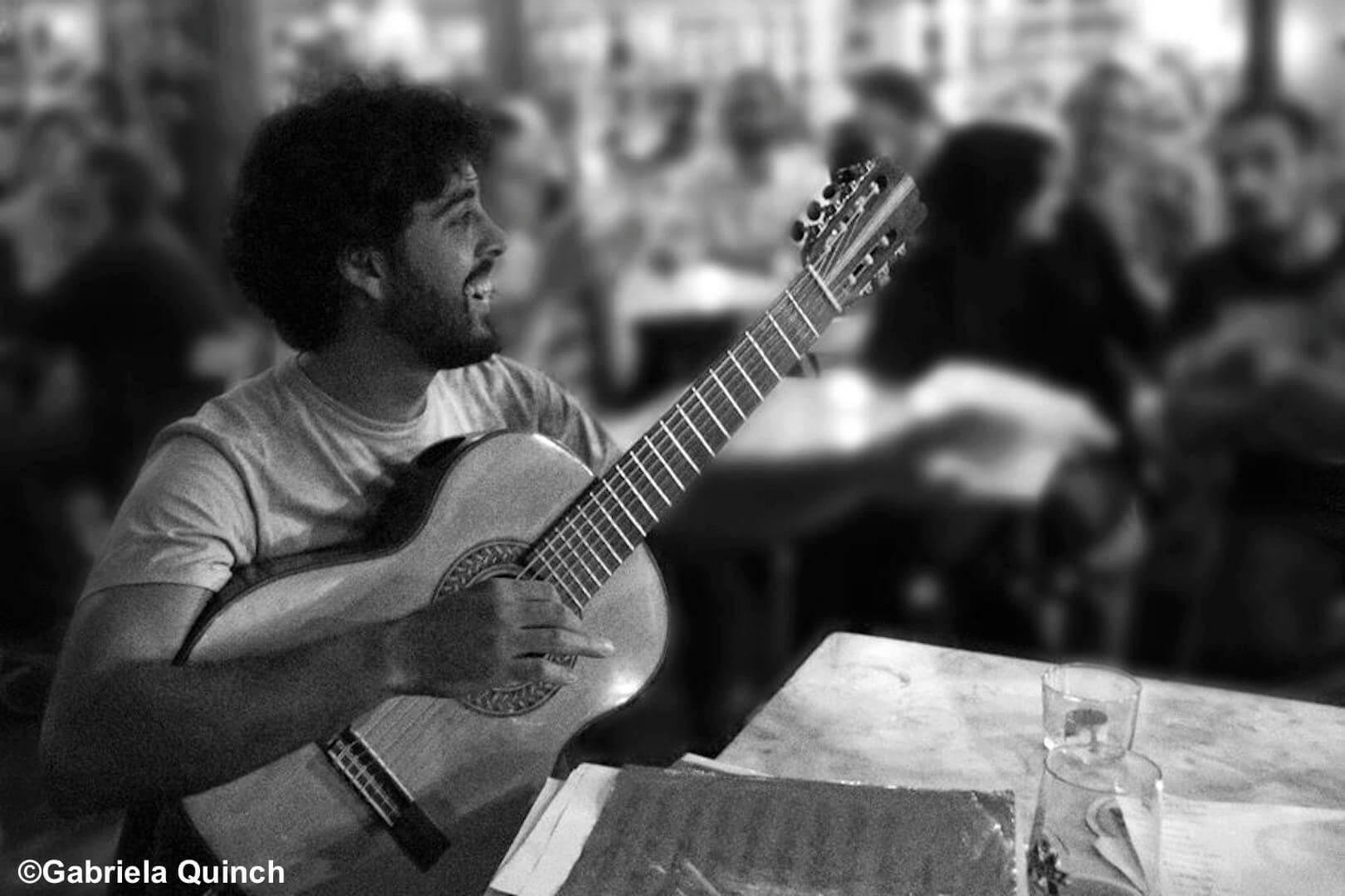 Violonista Pedro Bastos