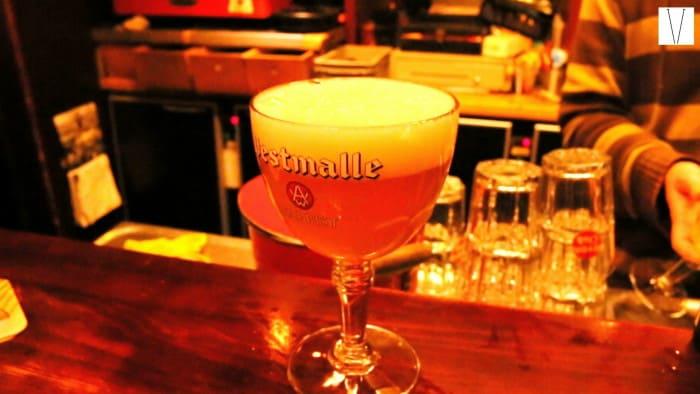 Cerveja belga em Bruxelas