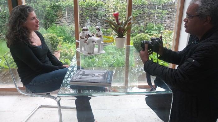 Silvino Ferreira Jr entrevista artista e pesquisadora Dionea Rocha Watt, em Peak District