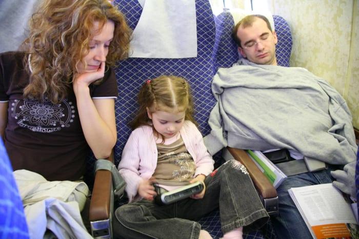 viajar com crianças para o exterior