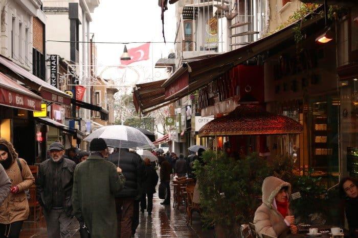 Lado asiático de Istambul