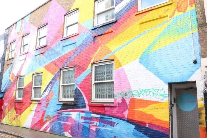 Arte de rua em Shoreditch