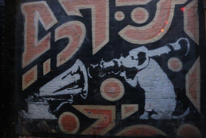 Arte de Banksy em Shoreditch
