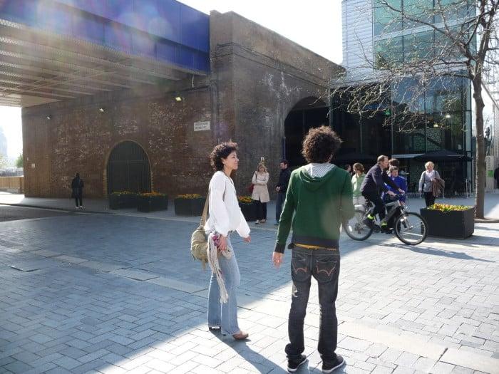Em Southbank com Roberta Arantes