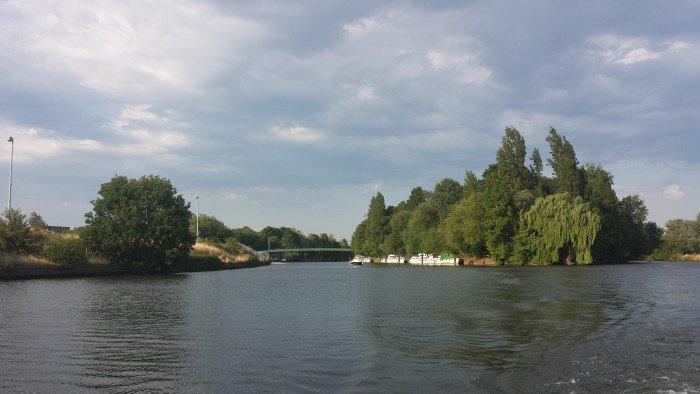 Como é morar em um barco em Londres