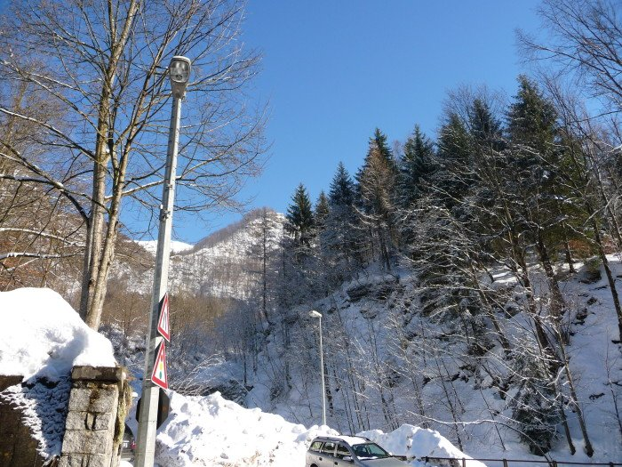 Viagem de inverno na Europa