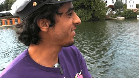 morar em um barco em londres