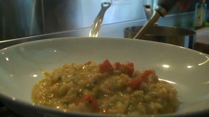 receita de risotto de abóbora