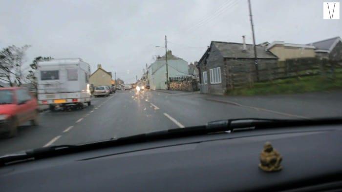 de carro pelas estradas da inglaterra de londres a cornwall