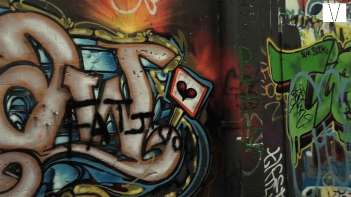 arte de rua em londres