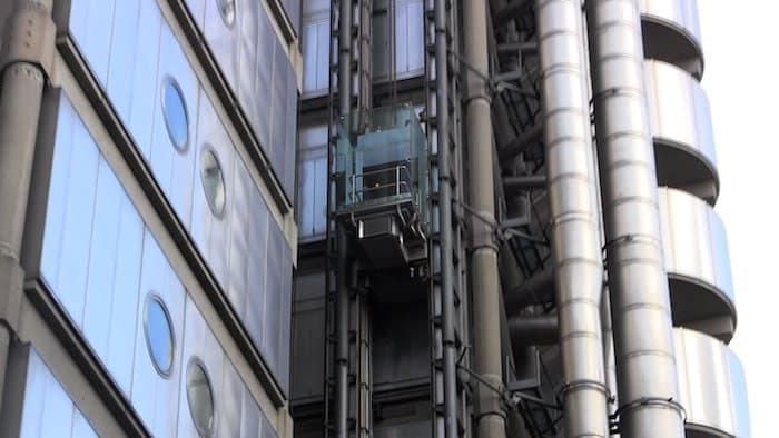 prédios modernos de londres