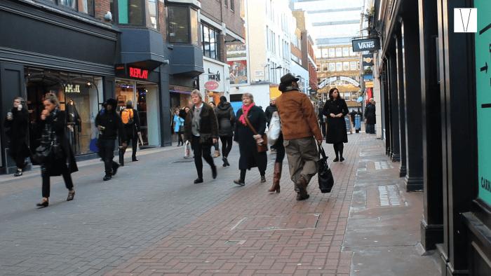 fazer compras em londres carnaby street