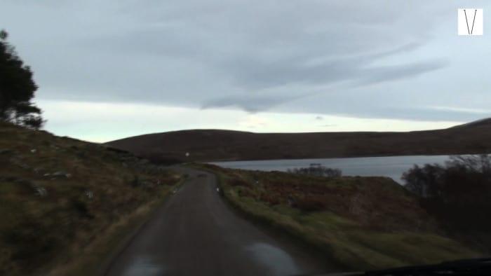 terras altas da escócia de carro