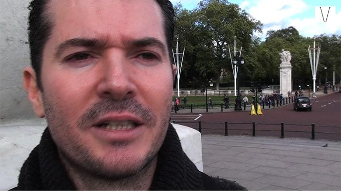 Bibiano Alex Rocha em Londres