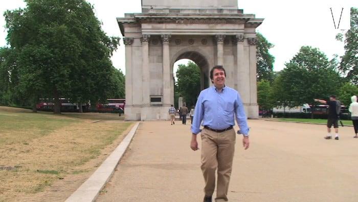 José Paskowitch em Londres