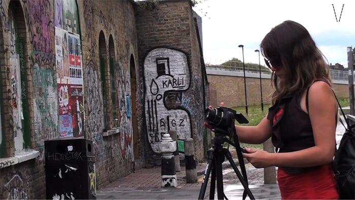 filmando em londres