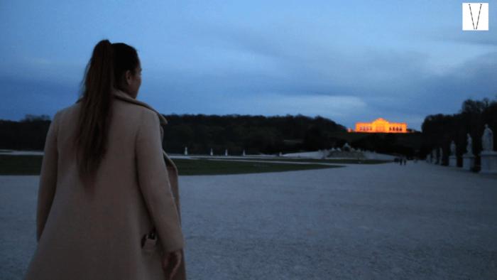 gloriette no palacio de schonbrunn viena