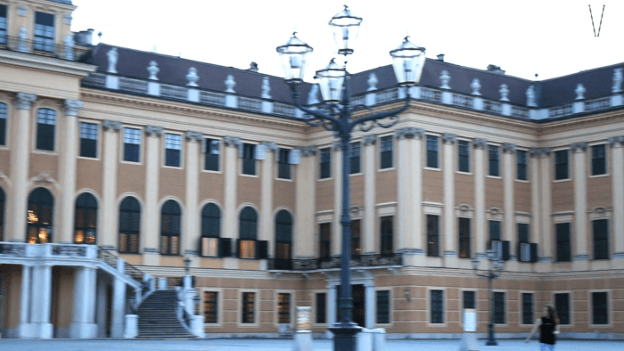 Castelo de Schonbrunn em Viena