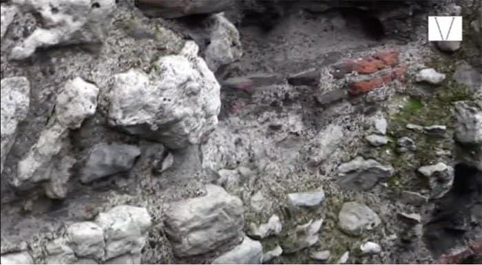 ruinas da muralha romana em tower hill