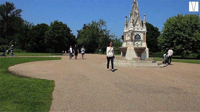 broad walk regent's park