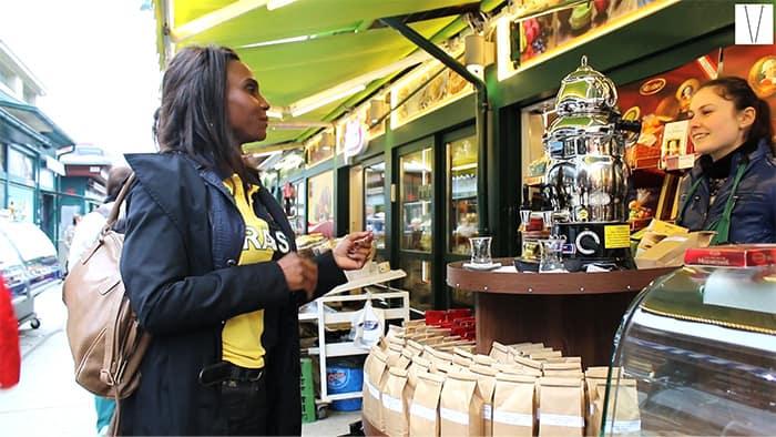 Mercados de Viena - Naschmarkt - Veja em vídeo