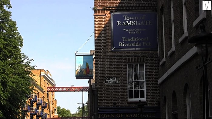 pubs em wapping town of ramsgate