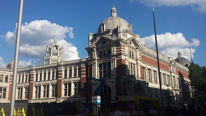 Museu Victoria e Albert em Londres