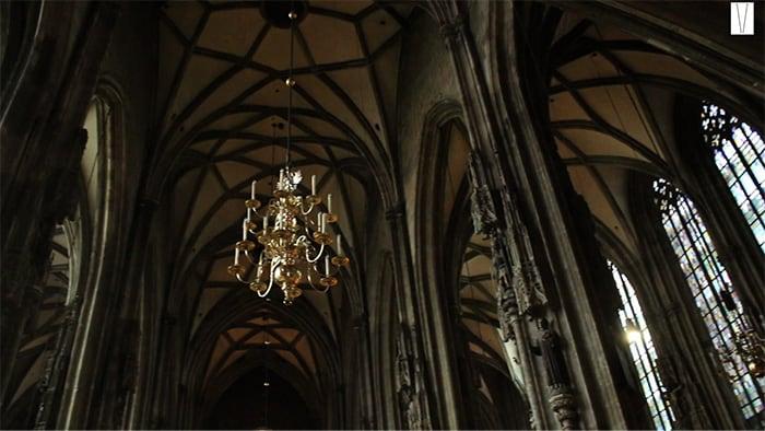 interior da catedral de viena