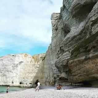 etretat france praias praiasnaeuropa