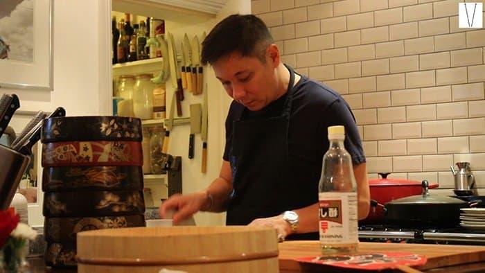 Luiz Hara - Culinária Nikkei em Londres