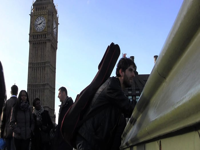 Ted Simões grava videoclip em Londres