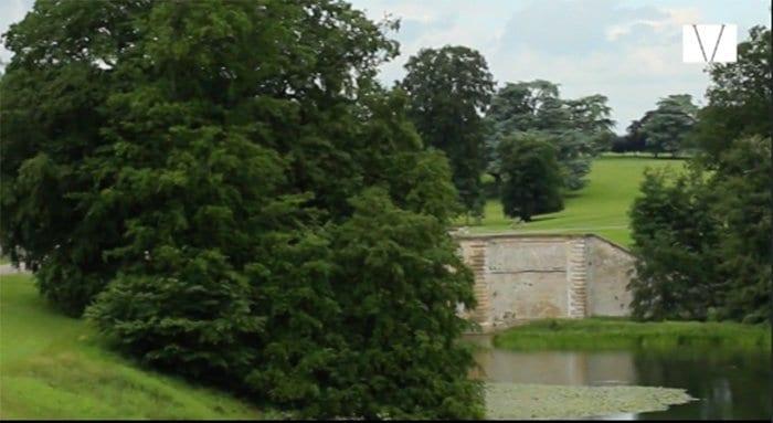 jardins do palácio de Belnheim