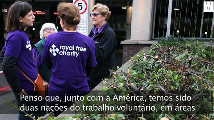 voluntários free royal hospital