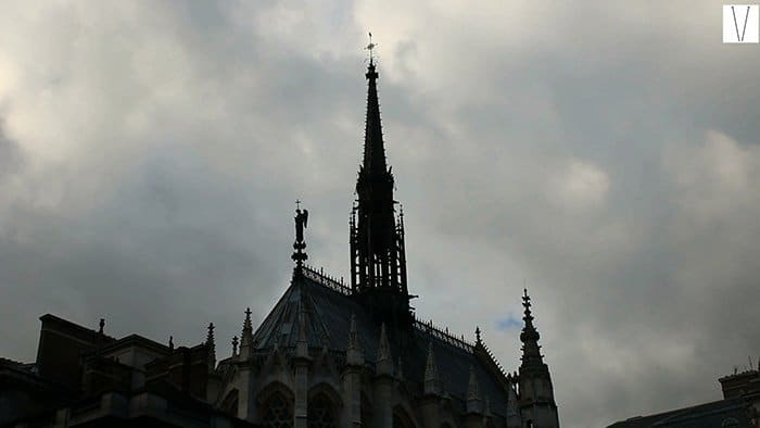 la chapelle ile de la cite paris
