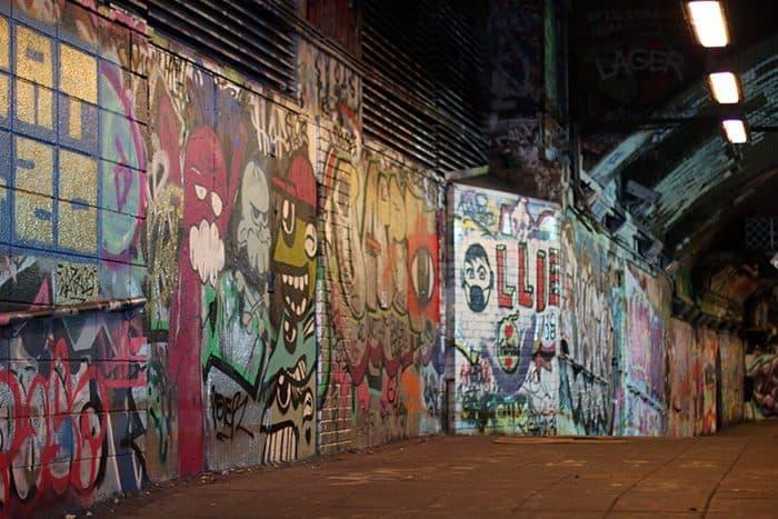 tunel do grafite