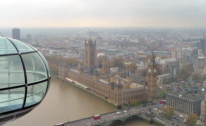 vista do parlamento