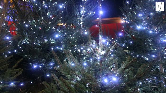 luzes do natal